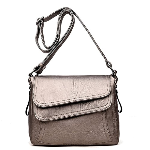 Joseph Papa Women Leather Handbags New Style Women Bag Femme Luxury Handbags Small Handbag New Sling Bronze (Bronze Sling)