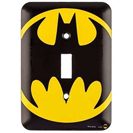 Amazon dc comics batman signal wall light switch cover home dc comics batman signal wall light switch cover aloadofball Choice Image