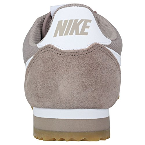 caramella Cortez Nylon 5 42 bianco Nike Formato Grigio Classic Scarpe O1wcqY6