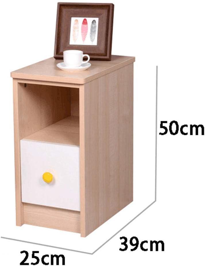 Table De Chevet Ultra Etroite Mini Armoire De Rangement Simple