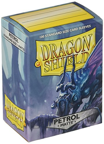 Dragon Shield Deck Protective Sleeves for Gaming Cards, Standard Size (100 sleeves), Matte - 100 Card Standard