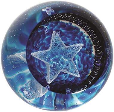 Caithness Glass Sentiments–Twinkle Little Star Briefbeschwerer, Multi