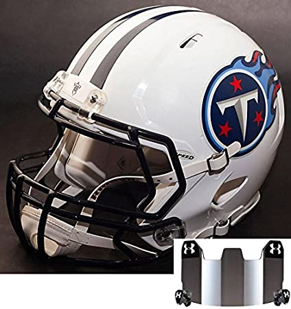 1a6ee4d6c Image Unavailable. Image not available for. Color  Riddell Speed Tennessee  Titans NFL Replica Football Helmet ...
