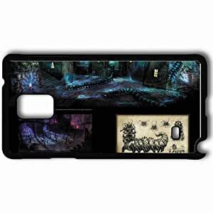 Personalized Samsung Note 4 Cell phone Case/Cover Skin Alice Madness Returns Black by mcsharks