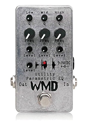 WMD Utility Parametric EQ Equalizer Effect Pedal