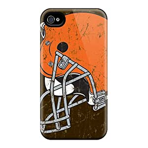 Cleveland Browns Case Compatible With Iphone 4/4s/ Hot Protection Case