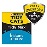 Purina Tidy Cats Clumping Cat Litter; Tidy MAX Instant Action Multi Cat Litter - 38 LB. Box