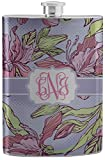 Orchids Stainless Steel Flask (Personalized)