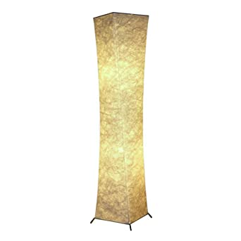 Labellevie 52u0026quot; Floor Lamp Rice Paper Shade Asian With 2 ...