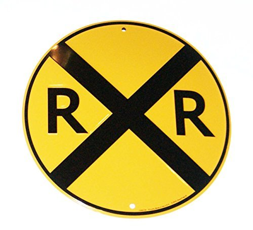 Upfront RR Railroad Xing Crossing 12