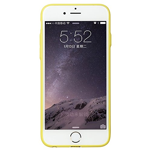 Baseus Premium Misu TPU Case/Ultra Fin/slim/Coque de protection pour Apple iPhone 6& 6S en jaune