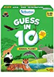Skillmatics Educational Game : Animal Planet - Guess in 10 (Ages 6-99 Years) | Card Game of Smart Questions | General Knowledge for Kids, Adults and Families
