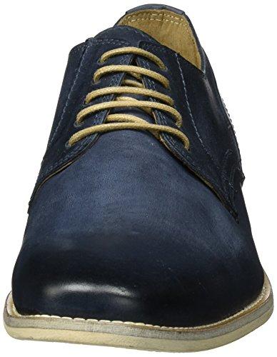 Mjus 338101-0101-6357, Zapatos de Cordones Derby para Hombre Blau (Space)