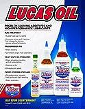 Lucas LUC10009 Transmission Fix 24 oz., Brown