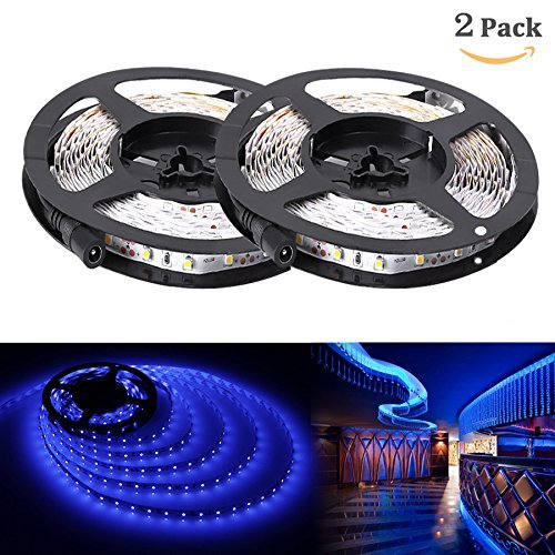 Led Strip Lights Warehouse: LE® 16.4ft 12V Flexible LED Strip Lights, Blue, 82 Lumens