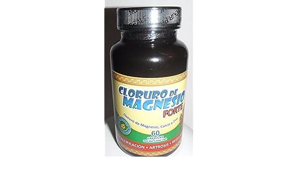 Amazon.com: CLORURO DE MAGNESIO FORTE 60 capsules: Health & Personal Care