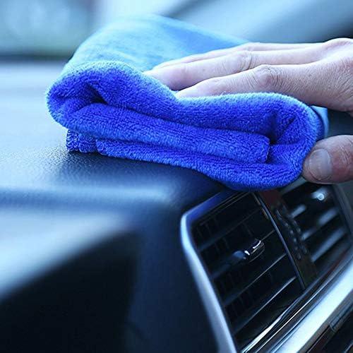 20 x 20 cm, secado r/ápido, absorbente Pa/ño de microfibra para limpieza Totleshop