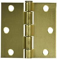 Mintcraft Bh-Bs033L Cor Door Hinge Sq 3x3 Sat Bra