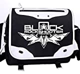 Gumstyle Black Rock Shooter Anime Messenger Bag Laptop Bags Crossbody Schoolbag for Students Boys Girls
