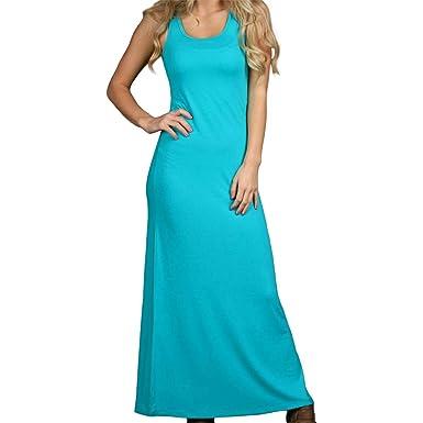 776552f9e61 Zenana Outfitters Solid Tank Maxi Dress at Amazon Women s Clothing ...