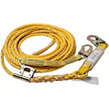 Guardian Fall Protection 01320 VLA-50 Poly Steel Vertical Lifeline Assembly, 50-Foot