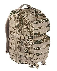 mochila Mil Tec US Assault de 20 L camuflaje Tropentarn
