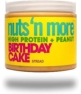 Nuts N More - Pastel de cumpleaños con alto contenido de proteínas y mantequilla de maní