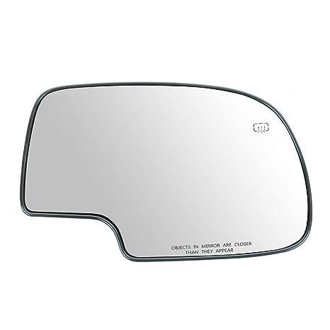 exactafit Chevy GMC Truck SUV Right Side Turn Signal Passenger View Mirror Glass