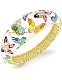 Qianse Spring of Versaille Butterfly Handcrafted Bangle...