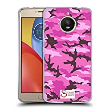 Official Support British Soldiers Pink Camo Soft Gel Case for Motorola Moto X Play