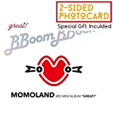 Duble kick company MOMOLAND - GREAT! (3rd Mini Album) CD+Booklet+Special double-sided photo cards