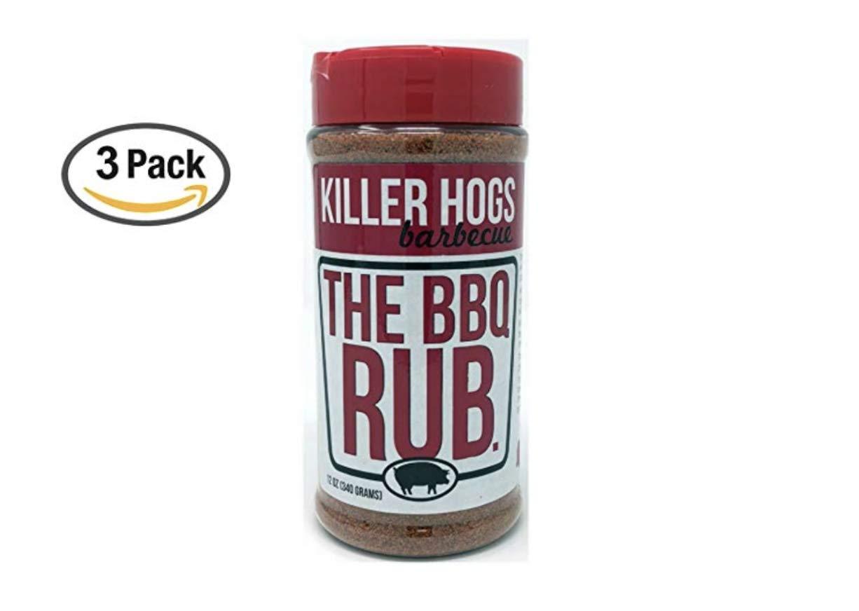 Killer Hogs The BBQ Rub 12 Ounce (12 oz (3 Pack))
