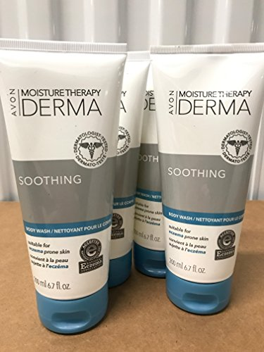 Moisture Therapy Derma Soothing Body Wash lot 4 pcs