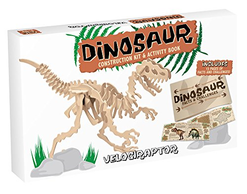 Dinosaur Construction Kits Velociraptor (Large)