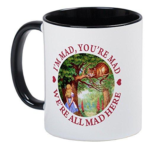 CafePress - WE're ALL MAD HERE Mug - Unique Coffee Mug, Coffee Cup