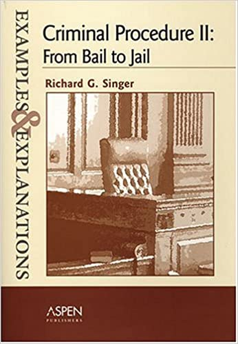 Criminal procedure: the constitution and the police: examples.