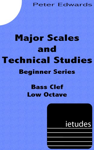 Clef Tuba - Major Scales and Technical Exercises for Beginners (Low Octave Bass Clef)