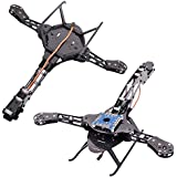 HJ-Y3 Carbon Fiber Tricopter Three-axis Multicopter Frame Compatible with MWC KK Rabbit Pirate Flight Controller