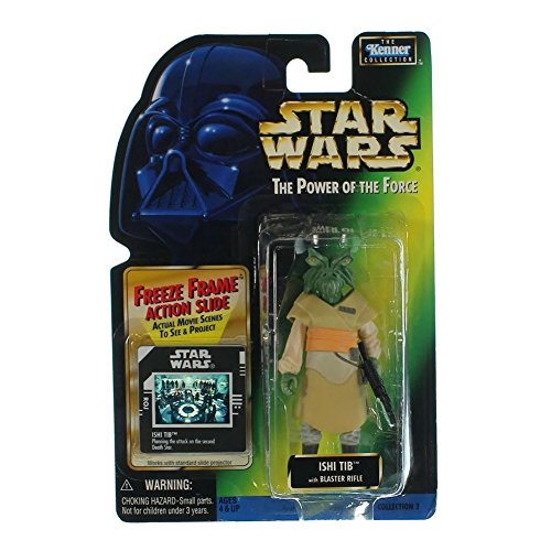 (Star Wars, The Power Of The Force Freeze Frame, Ishi Tib Action Figure, 3.75 Inches)