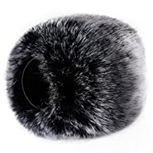 Neewer Outdoor Microphone Furry Windscreen Muff for Zoom H4n, H5, Tascam DR-40, DR-05, DR-07 and Similar Portable Digital Recorders
