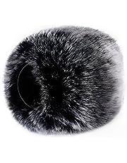 Neewer Outdoor Microphone Furry Windscreen Muff for Zoom H4n, H5, H6, Sony PCM-D50, Tascam DR-100 MKII and Similar Portable Digital Recorders