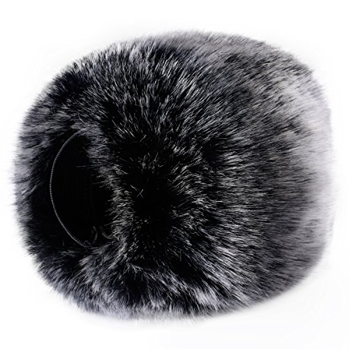 Neewer Outdoor Microphone Furry Windscreen Muff for Tascam DR-05 and Similar Portable Digital Recorders