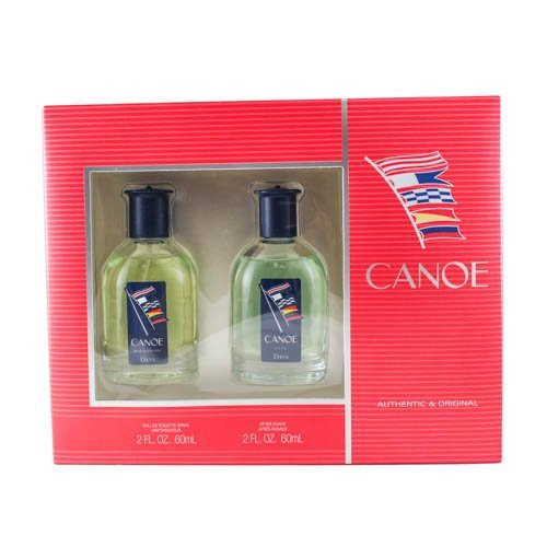 CANOE(M)2PC SET(2.0,2.0)2.0oz edt spray, 2.0oz after shave (Pack of 2)
