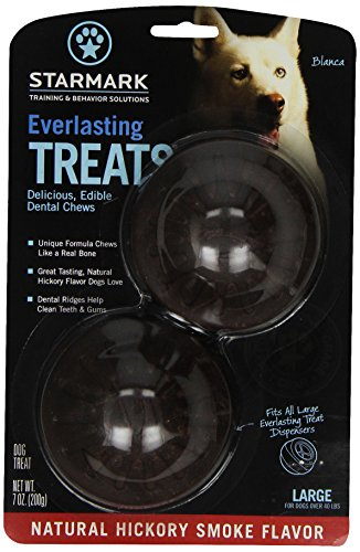 (Everlasting Treat For Dogs, Natural Hickory Smoke, Large)