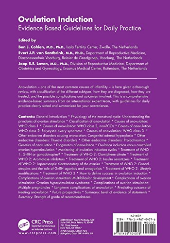 Ovulation Induction: Evidence Based Guidelines for Daily Practice (Reproductive Medicine and Assisted Reproductive Techniques Series)