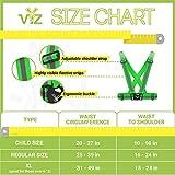 247 Viz Reflective Vest with Hi Vis Running
