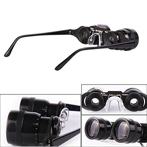 pesca para Ultraligero prismáticos enfoque estilo x negro Binocular 34 10 telescopio gafas veces Gosear caza 10 6qd7w7P