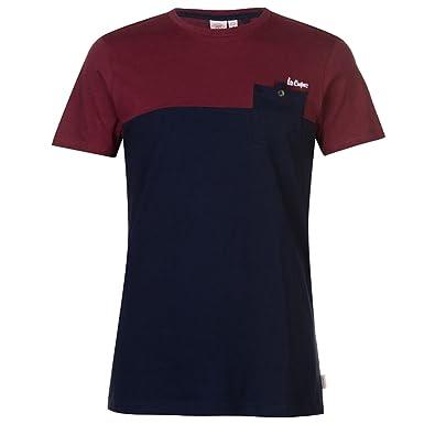 140d4772f Lee Cooper Mens Crew Neck T Shirt Short Sleeves: Amazon.co.uk: Clothing