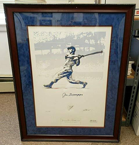 - 1994 Joe DiMaggio Signed & Framed 'The Yankee Clipper' 30