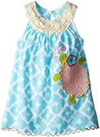 Mud Pie Little Girls' Turtle Dress
